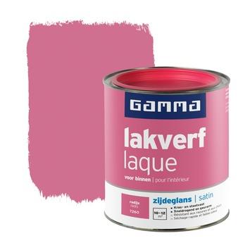 GAMMA lakverf voor binnen radijs zijdeglans 750 ml