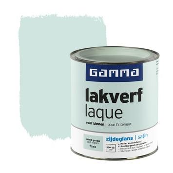 GAMMA lakverf voor binnen mint groen zijdeglans 750 ml