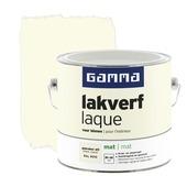 GAMMA binnenlak gebroken wit mat 2,5 liter