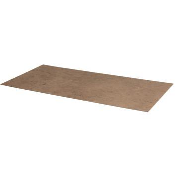 Hardboard vloerplaat naturel 122x61 cm 3,2 mm
