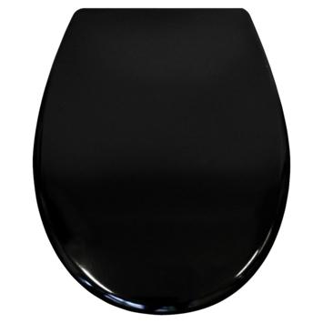 Tiger WC bril Amadora Zwart Kunststof met Softclose