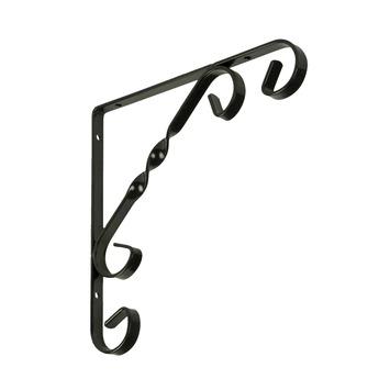 Duraline plankdrager ornament zwart 20x20 cm