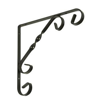 Duraline plankdrager ornament antiek brons 25x25 cm
