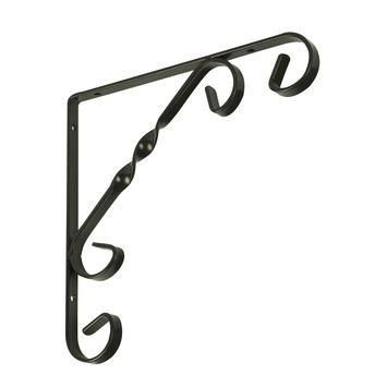 Duraline plankdrager ornament antiek brons 20x20 cm
