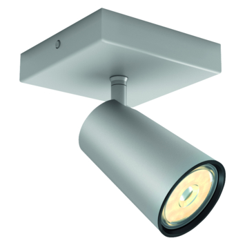 Philips Paisley spot 1x GU10 exclusief lampen max. 10 W aluminium