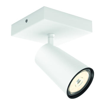 Philips Paisley spot 1x GU10 exclusief lampen max. 10 W wit