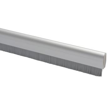 Handson tochtstrip flexibel met borstel aluminium zilver 93 cm