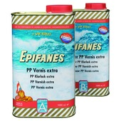 Epifanes PP Vernis Extra licht amber transparant hoogglans 2 liter