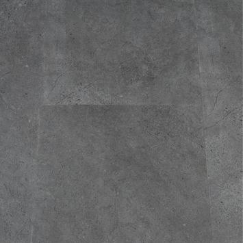 Click PVC Vloertegel Piedra Donker Grijs 61x31 cm 1,86 m2