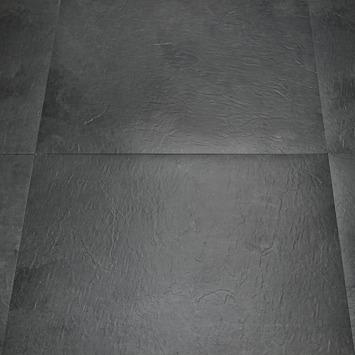 PVC Peel & Stick Minori Tegel Donkergrijs 45,7x45,7 cm 4,18 m2