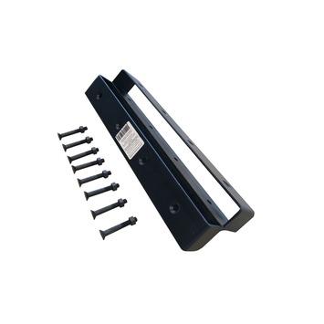 Hoekverbinder zwart geschikt voor 2 steigerplanken
