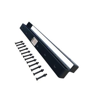 Hoekverbinder zwart geschikt voor 3 steigerplanken