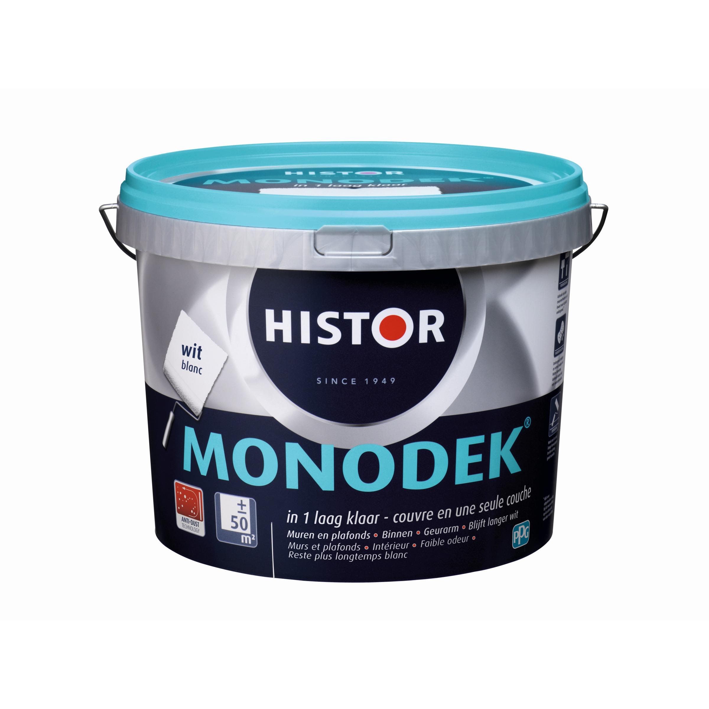 Histor Monodek Muurverf 5 liter