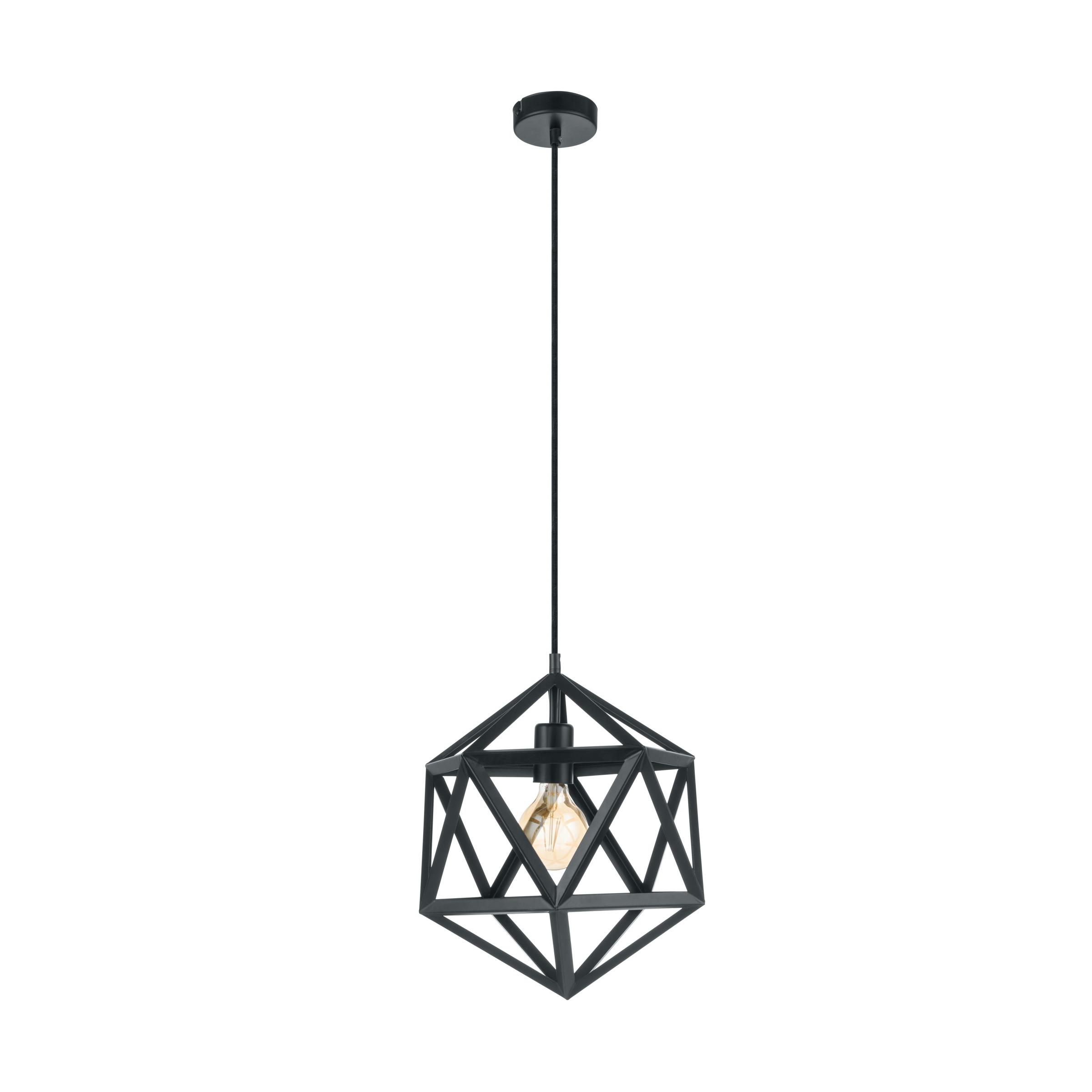 Eglo Embleton Hanglamp Zwart ø 30 cm