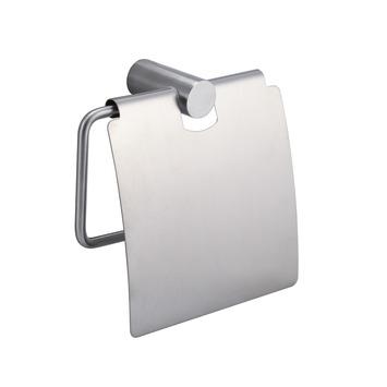 Handson toiletrolhouder Blister met klep RVS