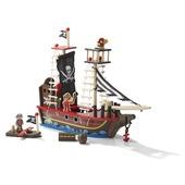 Piratenschip hout