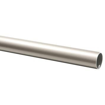 CanDo trapleuning rond Ø 45 mm aluminium met RVS look, lengte 270 cm