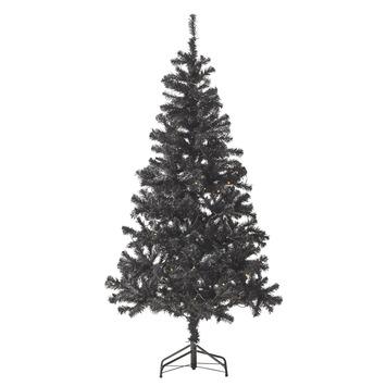 GAMMA | Kunstkerstboom Aalborg 180 cm met LED verlichting zwart ...