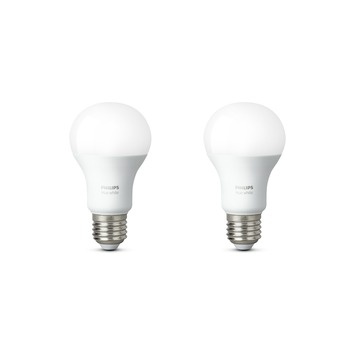 Philips Hue White E27 9W 2-pack
