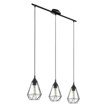 EGLO hanglamp Tarbes zwart