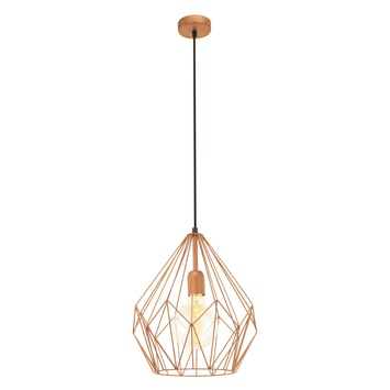 EGLO hanglamp Carlton koper