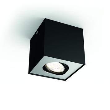 Philips opbouwspot MyLiving Box LED Zwart 4.5W