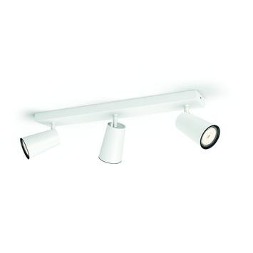 Philips Paisley triobalk 3x GU10 exclusief lampen max. 10 W wit