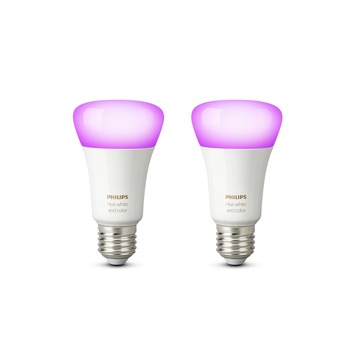 Philips Hue color E27 9W 2 stuks