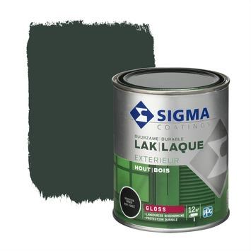 Sigma lak exterieur grachtengroen hoogglans 750 ml