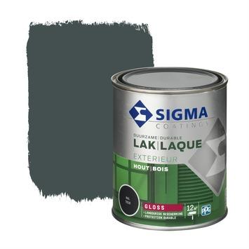 Sigma lak exterieur 7016 antraciet grijs hoogglans 750 ml