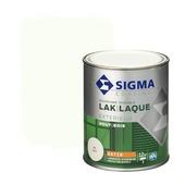 Sigma lak exterieur 9010 zuiverwit zijdeglans 750 ml