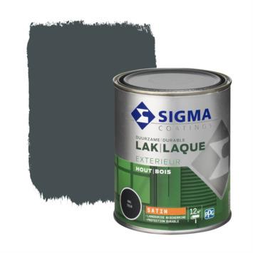 Sigma lak exterieur 7016 antraciet grijs zijdeglans 750 ml