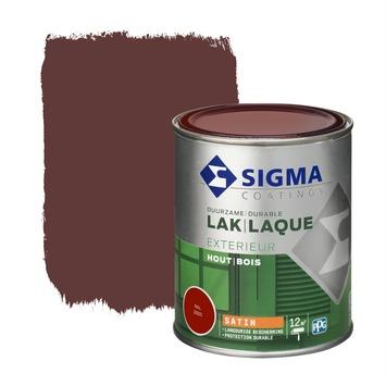 Sigma lak exterieur 3005 wijnrood zijdeglans 750 ml