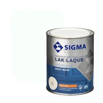 Sigma lak interieur 9003 signaalwit zijdeglans 750 ml