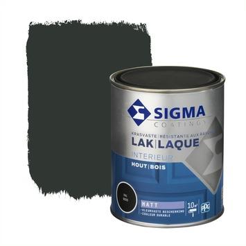 Sigma Lak Interieur mat 9005 gitzwart