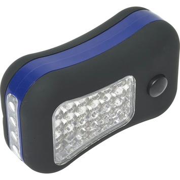 Zaklamp 6x4 LED 3x AAA zwart