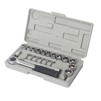 OK dopsleutelset 7-21 mm 21 stuks