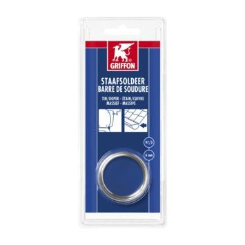 Griffon staafsoldeer 6 mm tin/koper 100 gram