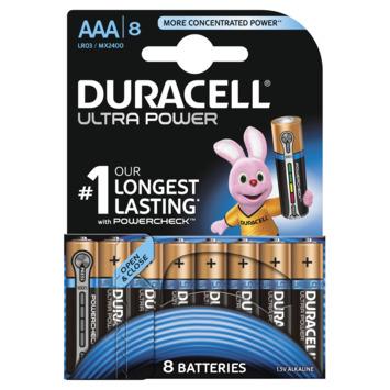 Duracell batterijen Ultra power AAA 8-pack