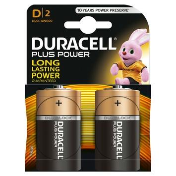 Duracell Plus Power batterij 2 stuks