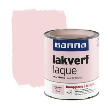 GAMMA lakverf voor binnen lelie roze hoogglans 750 ml