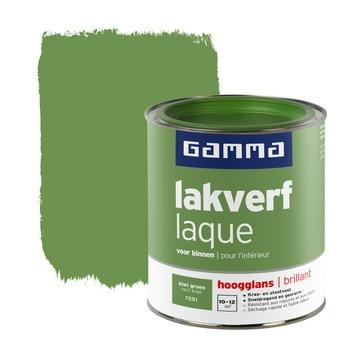 GAMMA lakverf voor binnen kiwi groen hoogglans 750 ml