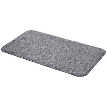 Droogloopmat 40x70 cm grijs