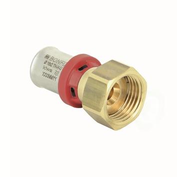 """Bonfix alu-press 2-delige koppelmoer 1/2"""" x 16x2,0mm"""