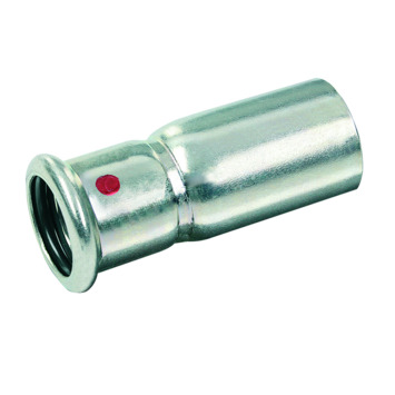 Bonfix press CV insteekkoppeling 22x28mm staal verzinkt