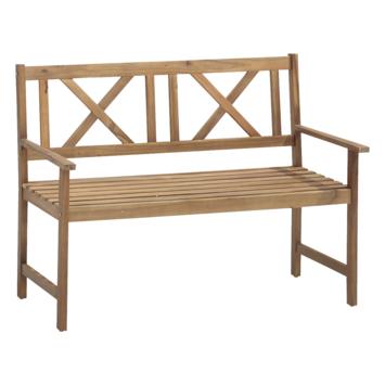 Bank voor twee hout
