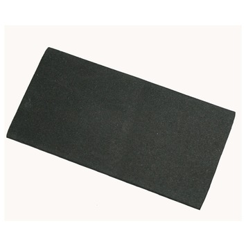 HANDSON anti-slip rubber zwart 50x100 mm 3 stuks