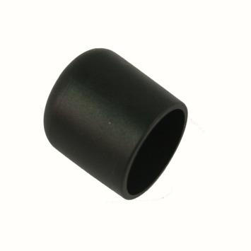 HANDSON meubeldop rond zwart 32 mm 4 stuks