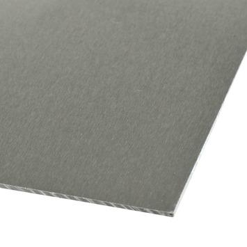 Plaat aluminium 100x50 cm