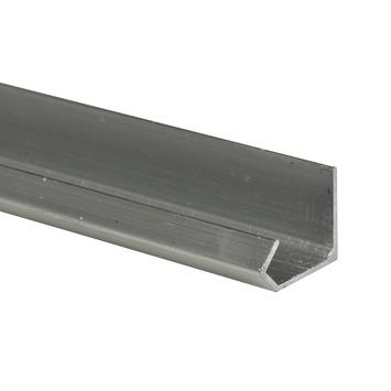 Essentials schuifdeurrail S20 aluminium 200 cm
